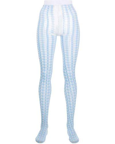 Niebieskie rajstopy Thom Browne