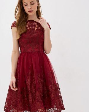Вечернее платье - красное Chi Chi London
