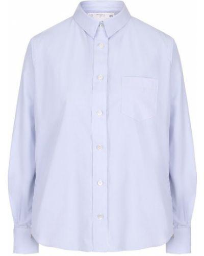 Блузка с длинным рукавом маленький классическая Sacai