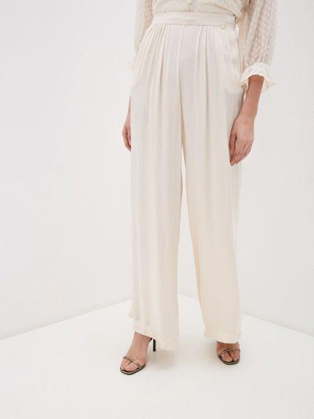 Бежевые брюки Miss Miss By Valentina