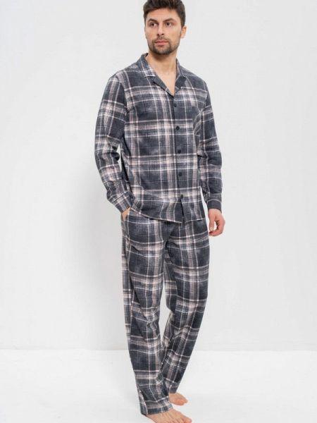 Пижамная серая пижама Cleo