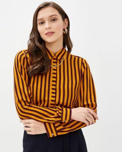 Оранжевая с рукавами блузка Scotch&soda