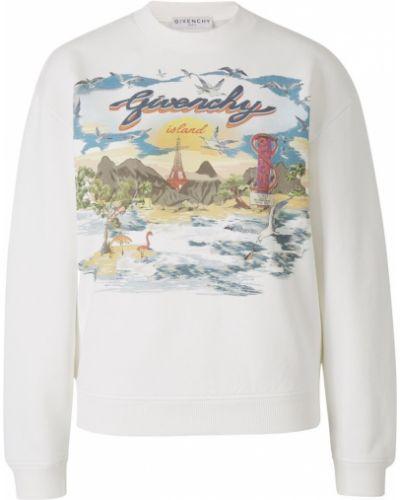 Bluza bawełniana z printem Givenchy