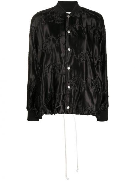 Однобортный черный приталенный классический пиджак Comme Des Garçons Girl