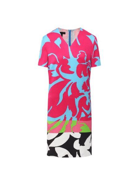 Платье из вискозы с подкладкой Escada