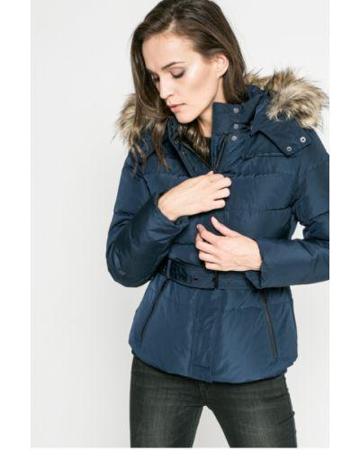 Утепленная куртка с капюшоном с мехом Pepe Jeans