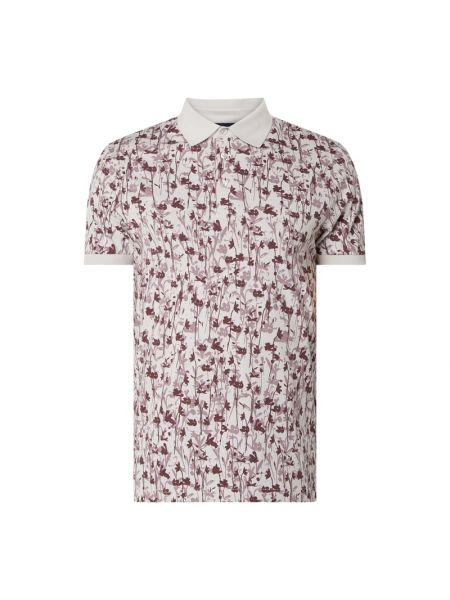 T-shirt bawełniana - różowa Joop! Collection