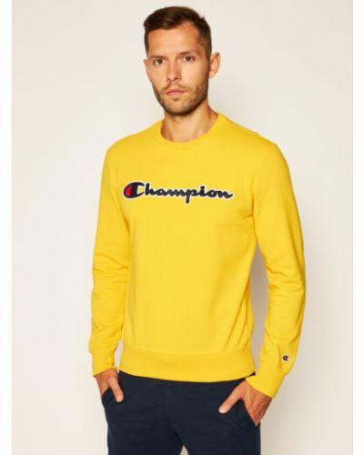 Satynowa żółta bluza Champion