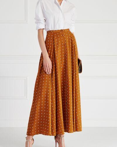 Юбка макси шелковая Diane Von Furstenberg