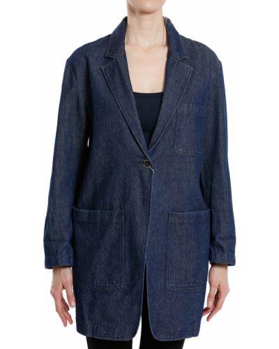 Пиджак синий Maison Margiela