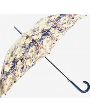 Зонт-трость с принтом Goroshek