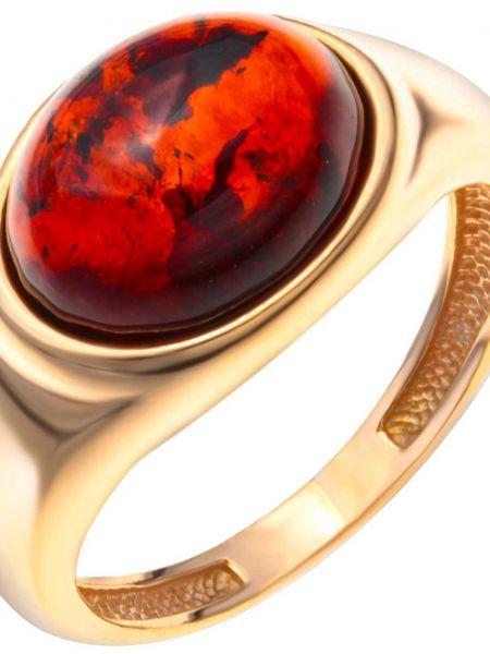 Золотистое кольцо золотое позолоченное с декоративной отделкой Darvin