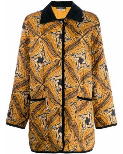 Пальто классическое с капюшоном Salvatore Ferragamo Pre-owned