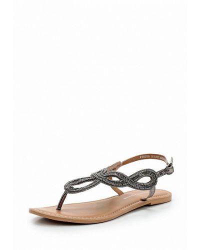 Серые сандалии Dorothy Perkins