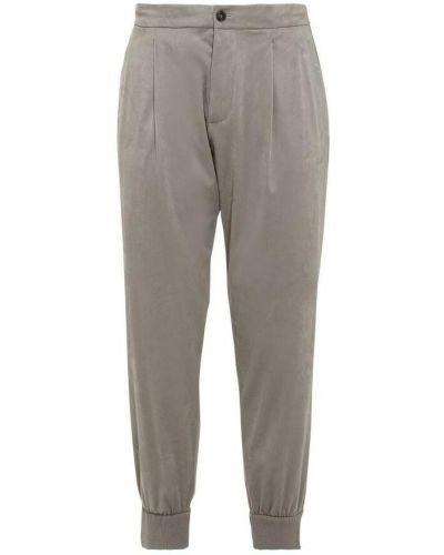Beżowe spodnie Giorgio Armani