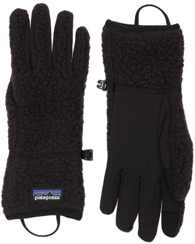 Czarne rękawiczki vintage Patagonia