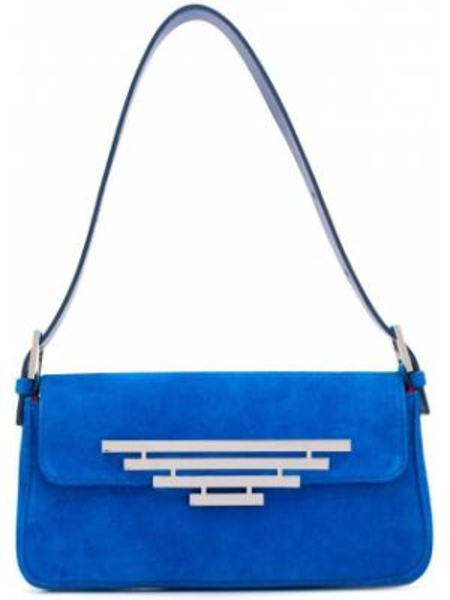 Niebieska torebka skórzana Dorateymur