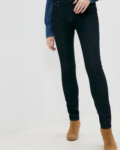 Синие джинсы-скинни узкого кроя Jacob Cohen
