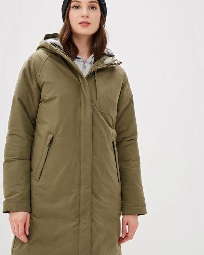 Куртка осенняя зеленая Adidas