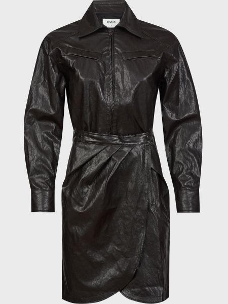 Хлопковое платье - черное Ba&sh