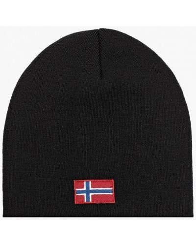 Черная зимняя шапка Napapijri