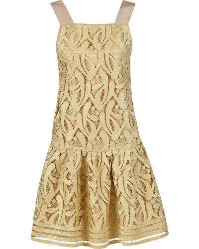 Платье из вискозы - золотое N°21
