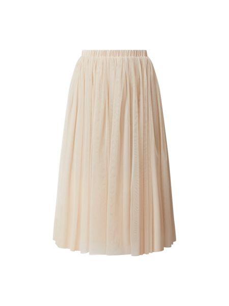 Biała spódnica tiulowa rozkloszowana Lace & Beads