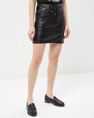 Черная юбка мини Phard