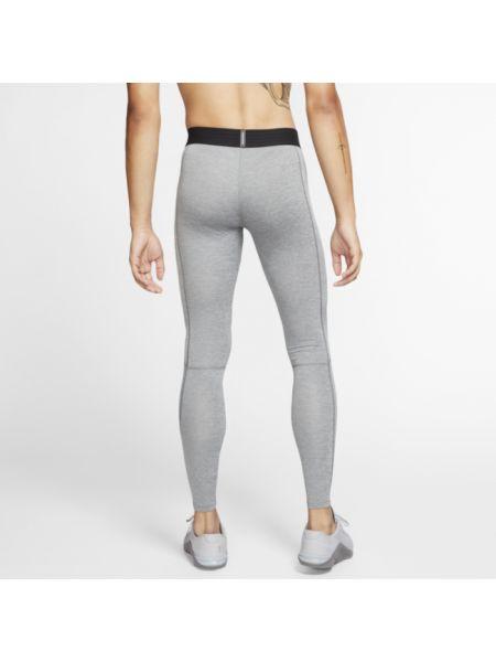 Szare legginsy na co dzień Nike