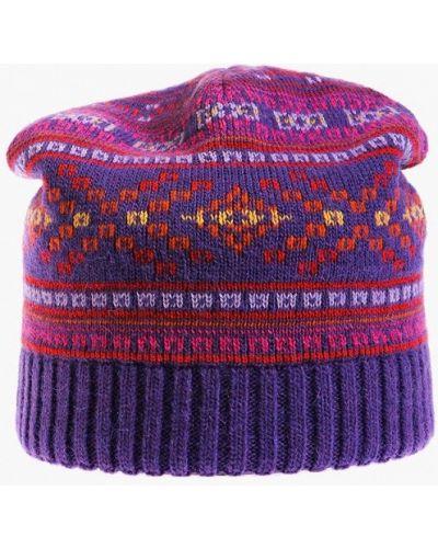 Фиолетовая шапка осенняя Vittorio Richi