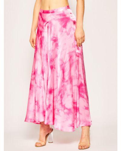 Różowa spódnica maxi Guess