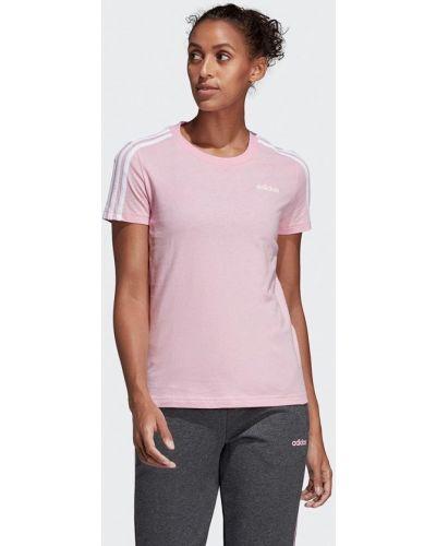 Футболка розовый Adidas