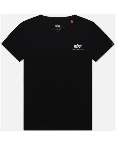 Базовая хлопковая футболка Alpha Industries