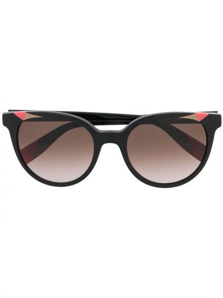Темные солнцезащитные очки - черные Furla