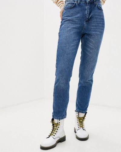Синие прямые джинсы Trendyol