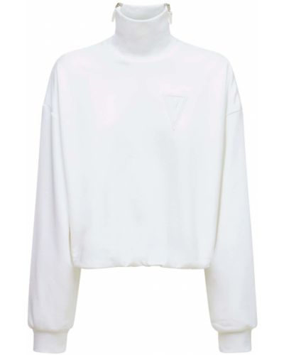 Biała bluza bawełniana No Ka'oi