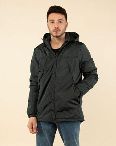 Куртка с капюшоном - серая каляев