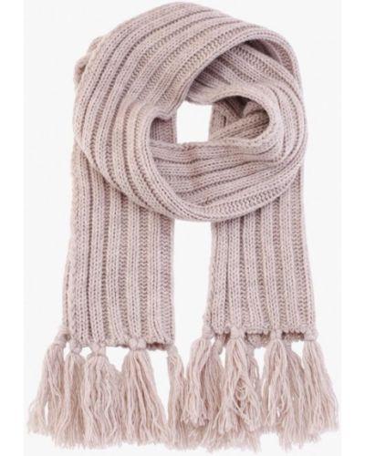 Бежевый шарф осенний Fomas