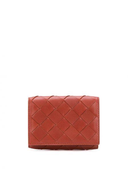 Кожаный кошелек классический с логотипом Bottega Veneta