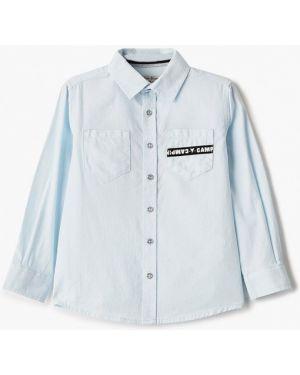 Рубашка синий Button Blue