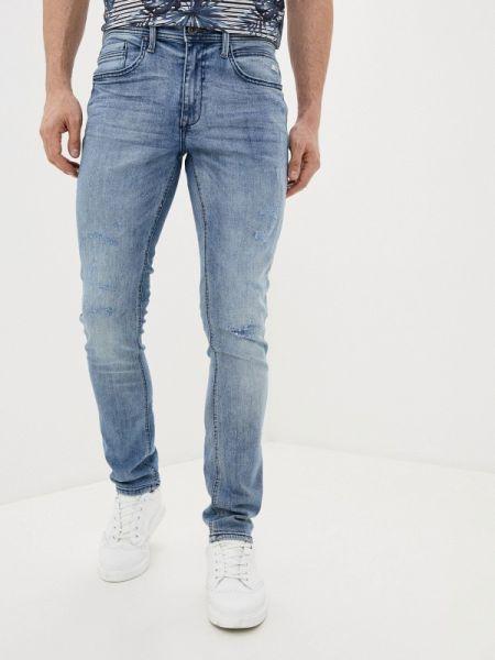 Зауженные джинсы-скинни из микрофибры Blend