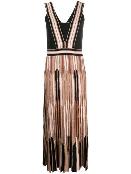 Расклешенное платье миди без рукавов из вискозы D.exterior