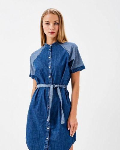 Джинсовое платье весеннее индийский Ichi