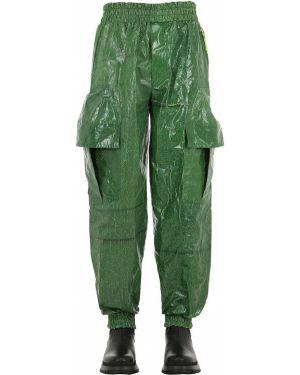 Zielone spodnie bawełniane ciążowe Haervaerk