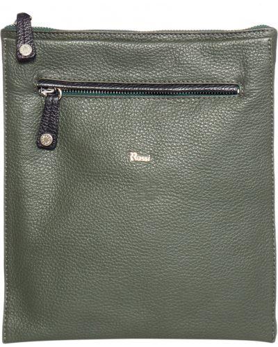 Кожаная сумка - зеленая Bruno Rossi