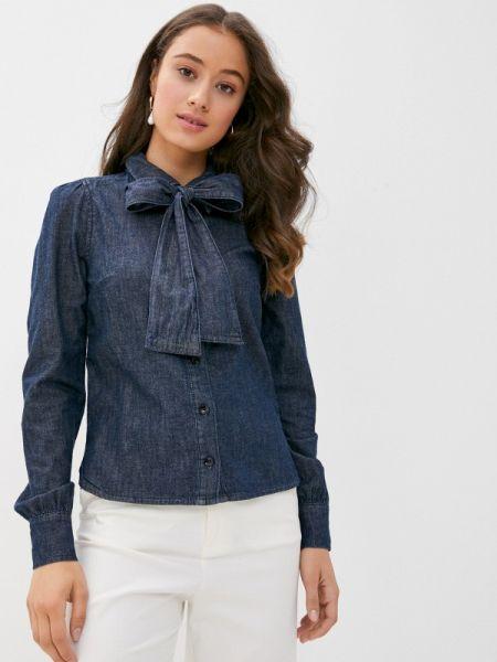 Джинсовая рубашка - синяя Twist & Tango