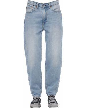 Niebieskie jeansy skorzane Levi's Red Tab