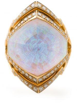 Кольцо с камнями - белое Stephen Webster