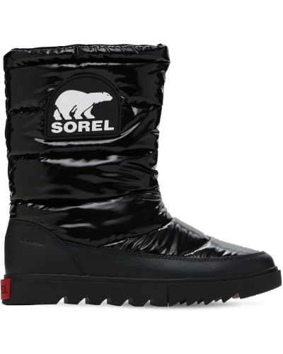 Мягкие кожаные ботинки Sorel