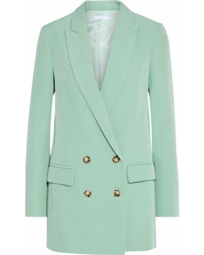 Пиджак двубортный с карманами на пуговицах Iris & Ink
